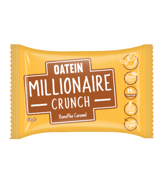 Oatein Millionaire Crunch Banoffee Caramel - 58g Food and Groceries