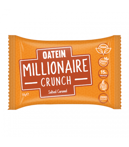 Oatein Millionaire Crunch Salted Caramel - 58g Food and Groceries