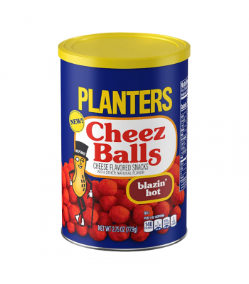 Planters Cheez Balls Blazin' Hot - 2.75oz (77.9g) Snacks and Chips