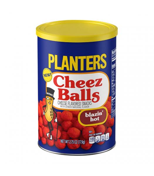Planters Cheez Balls Blazin' Hot - 2.75oz (77.9g) Snacks and Chips