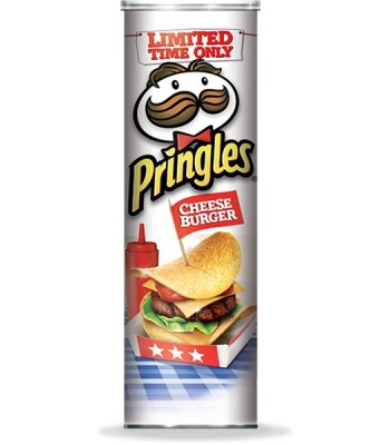 Pringles - Cheese Burger - Food Truck Flavors - 5.96oz (168g)