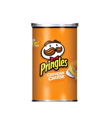 Pringles Grab & Go - Cheddar Cheese - 2.5oz (71g) Crisps & Chips Pringles