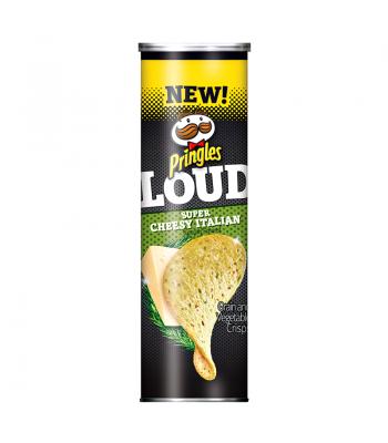 Pringles LOUD - Super Cheesy Italian - 5.4oz (153g) Crisps & Chips Pringles