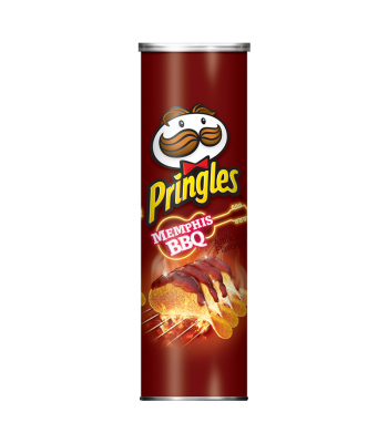 Pringles Memphis BBQ 5.5oz (158g) Snacks and Chips Pringles