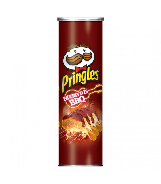 Pringles Memphis BBQ 5.5oz (158g) Snacks and Chips Pringles