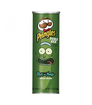 Pringles PICKLE RICK Rick & Morty Special Edition - 5.5oz (158g) Snacks and Chips Pringles