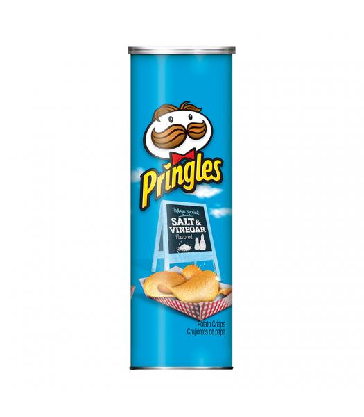 Pringles Salt & Vinegar - 5.57oz (158g) Snacks and Chips Pringles