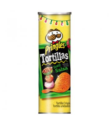 Pringles Tortillas Large - Zesty Salsa 6.42oz (177g)