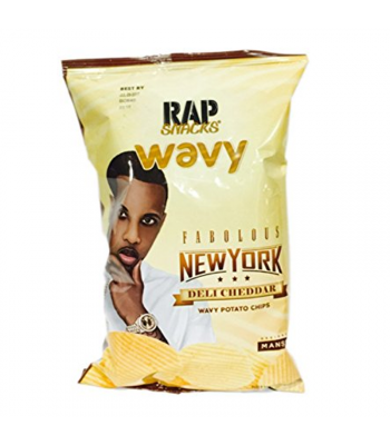 Rap Snacks New York Deli Cheddar - 2.75oz (78g) Snacks and Chips