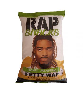 Rap Snacks Honey Jalapeno - 2.75oz (78g) Snacks and Chips