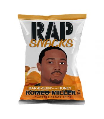 Rap Snacks Honey BBQ - 1oz (28g) Snacks and Chips