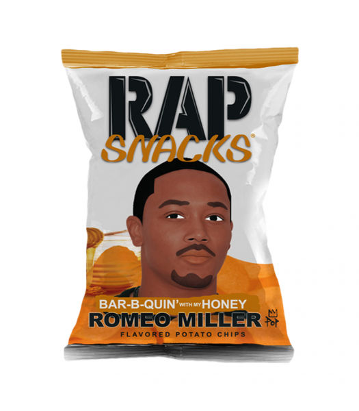 Rap Snacks Honey BBQ - 1oz (28g) Snacks and Chips