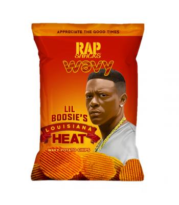 Rap Snacks Louisiana Heat - 2.75oz (78g) Snacks and Chips