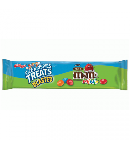 Rice Krispies Treats Blasted with Candy Minis Giant Cereal Bar 2.1oz Chocolate, Bars & Treats Kellogg's