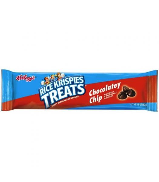 Rice Krispies Treats - Chocolatey Chip Giant Cereal Bar 2.9oz (82g) Chocolate, Bars & Treats Kellogg's