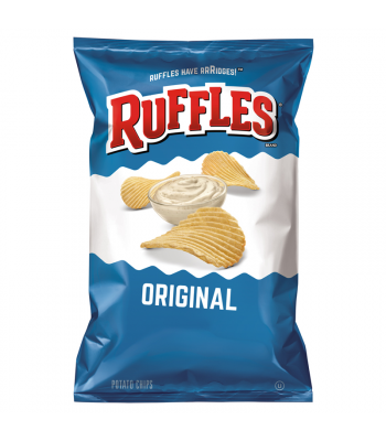 Ruffles Potato Chips Original 6.5oz (184.2g) Snacks and Chips Ruffles