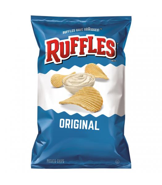 Ruffles Potato Chips Original 6.5oz (184.2g) Snacks and Chips Ruffles