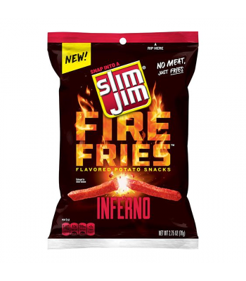 Slim Jims Fire Fries Inferno Potato Snacks - 2.75oz (78g)
