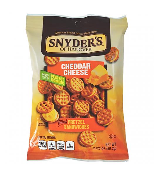 Snyder's Cheddar Cheese Pretzel Sandwiches - 2.125oz (60.2g) Pretzel Snacks Snyder's