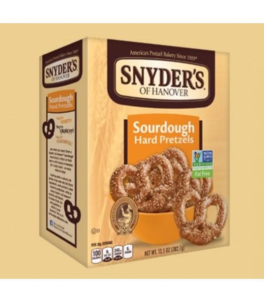 Snyder's Sour Dough Hard Pretzels 13.5oz (378g) Snacks and Chips Snyder's