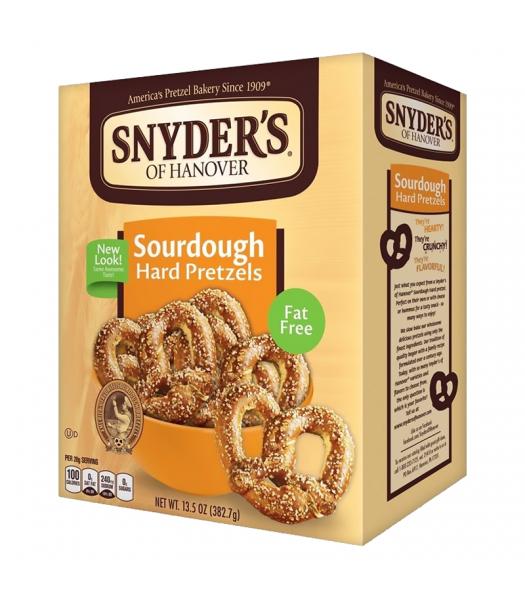 Snyder's Sourdough Hard Pretzels - 13.5oz (378g) Snacks and Chips Snyder's