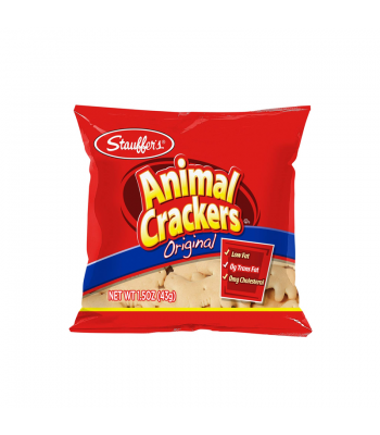 Stauffer's Original Animal Crackers - 1.5oz (43g) Snacks and Chips