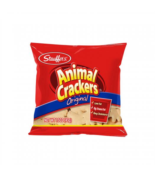 Stauffer's Original Animal Crackers - 1.5oz (43g) Snacks and Chips