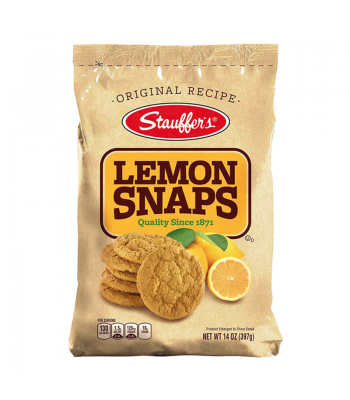 Stauffer's Lemon Snaps - 14oz (397g) Snacks and Chips