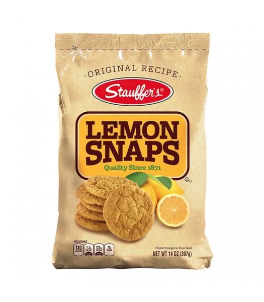 Stauffer's Lemon Snaps - 14oz (397g) Snacks and Chips