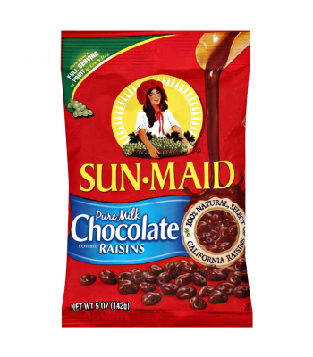 Clearance Special - Sun-Maid Pure Milk Chocolate Covered Raisins 5oz (142g) ** Best Before: January 2017 ** Clearance Zone