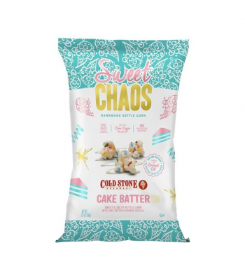 Clearance Special - Sweet Chaos Cake Batter Sweet & Salty Kettle Corn - 5.5oz (155g) **Best Before: April 20** Clearance Zone