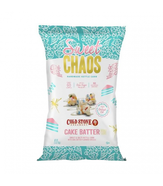 Clearance Special - Sweet Chaos Cake Batter Sweet & Salty Kettle Corn - 5.5oz (155g) **Best Before: 04 March 20** Clearance Zone