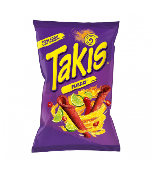 Takis Fuego Rolled Tortilla Corn Chips - 180g Snacks and Chips