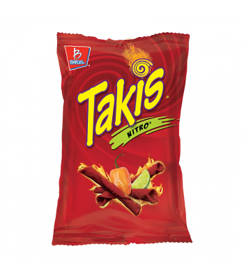 Takis Nitro Habanero & Lime Tortilla Chips - 9.9oz (280g) Snacks and Chips Barcel
