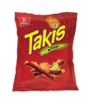 Takis Nitro Habanero & Lime Tortilla Chips - 4oz (113g) Snacks and Chips Barcel