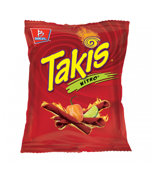 Takis Nitro Tortilla Chips 4oz (113g) Food and Groceries