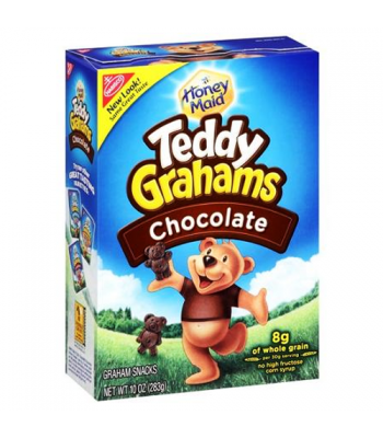 Teddy Grahams Chocolate Cereal Snack 10oz (283g) Cookies and Cakes Teddy Grahams