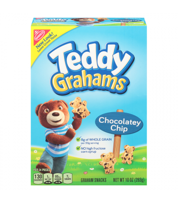 Teddy Grahams Chocolatey Chip Cereal Snack 10oz (283g) Food and Groceries Teddy Grahams
