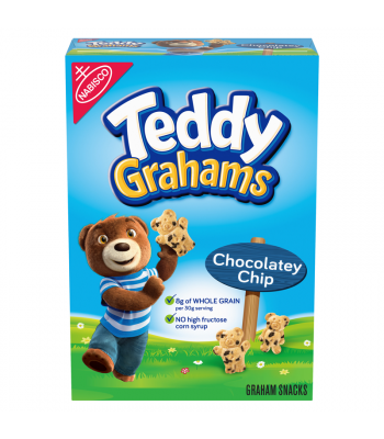 Teddy Grahams Chocolatey Chip Graham Snacks - 10oz (283g) Snacks and Chips Teddy Grahams