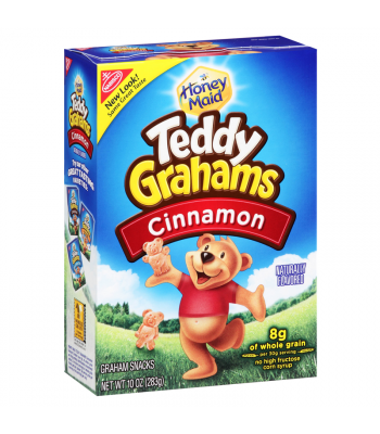 Teddy Grahams Cinnamon Cereal Snack 10oz (283g) Cookies and Cakes Teddy Grahams