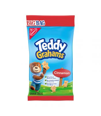 Teddy Graham Cinnamon Big Bag 3oz (85g) Cookies and Cakes Teddy Grahams