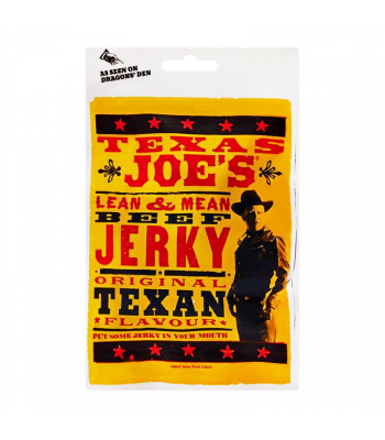 Texas Joe's Lean & Mean Beef Jerky (25g) Beef Jerky