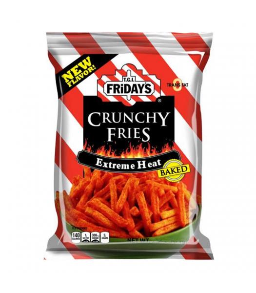 TGI Fridays Extreme Heat Crunchy Fries - 4.5oz (127.8g) Snacks and Chips TGI Fridays