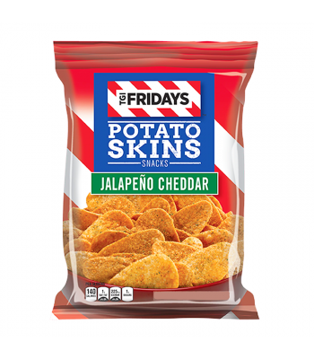 TGI Fridays Jalapeño Cheddar Potato Skins - 4oz (113g) Snacks and Chips TGI Fridays