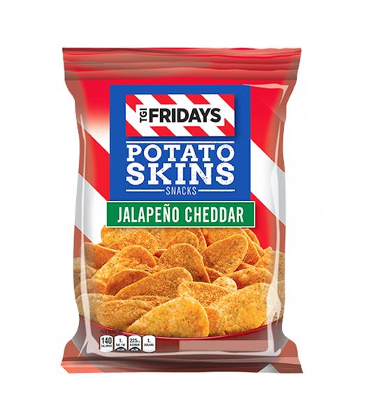 TGI Fridays Jalapeño Cheddar Potato Skins - 4oz (113g) Snacks and Chips TGI Fridays