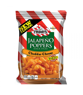 TGI Fridays Jalapeño Poppers Snack Sticks - 3.5oz (99.4g) Snacks and Chips TGI Fridays