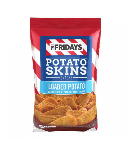 TGI Fridays Loaded Potato Skins - 4.5oz (127.8g) Snacks and Chips TGI Fridays