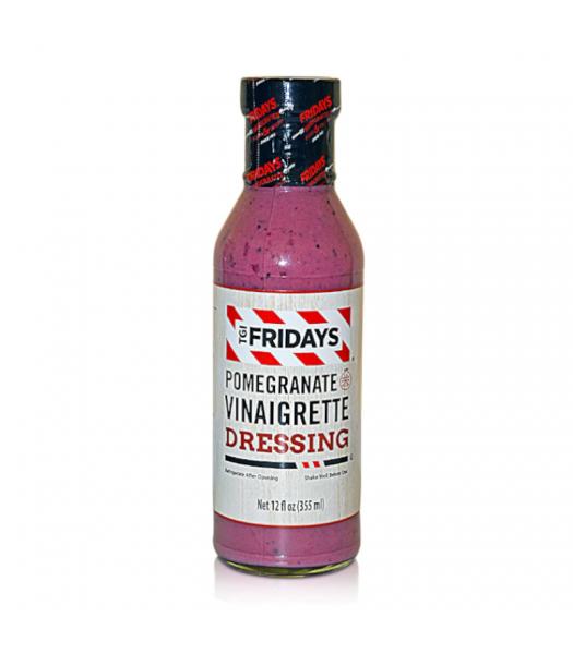 TGI Fridays Pomegranate Vinaigrette Dressing - 12oz (355ml) Food and Groceries TGI Fridays