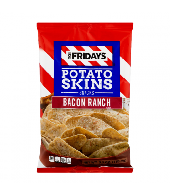 TGI Fridays Bacon Ranch Potato Skins - 4oz (113g) Snacks and Chips TGI Fridays