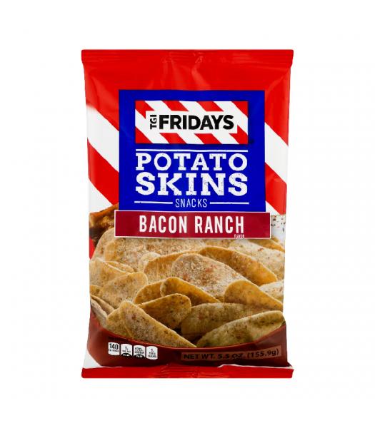 TGI Fridays Bacon Ranch Potato Skins - 4oz (113g) Snacks and Chips TGI Fridays
